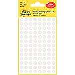 AVERY Zweckform Markeringspunten Speciaal 3175 Wit 4 Vellen à 104 Etiketten