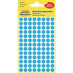 AVERY Zweckform 3011 Markeringspunten Blauw Blauw 4 Vellen à 104 Etiketten