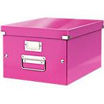 Leitz Archiefdozen WOW Click & Store A4 Roze pp gelamineerd robuust hardboard 28,1 x 37 x 20 cm