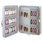 Office Depot Sleutelkastje met sleutelslot en 80 haken 240 x 80 x 300 mm