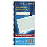 Jalema A5419 042 Kilometerregistratieboek Wit Gelinieerd Geperforeerd Speciaal 14 x 29,7 cm 70 g