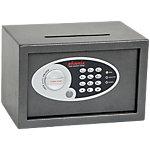 Phoenix Afstortkluis Maat 1 Veiligheidskluis met Elektronisch slot 10L Vela SS0801ED 200 x 310 x 200 mm Metallic grafiet
