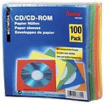 DVD hoezen 00078369 Papier Blauw, Groen, Rood, Oranje, Geel 1 x CD