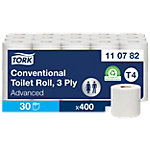 Tork Toiletpapier T4 Advanced 3 laags 30 Rollen à 250 Vellen