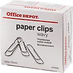 Office Depot Paperclips Zilver 100 Stuks