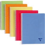 Clairefontaine Linicolor Spiraalschrift A5   90 g