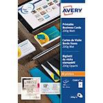 AVERY Zweckform Visitekaartjes Speciaal C32011 25 Wit Mat 200 g