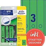 AVERY Zweckform Ordnerrugetiketten Ultragrip L4754 20 Groen A4 61 mm 20 Vellen à 3 Etiketten