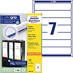 AVERY Zweckform ultragrip Klasseurrugetiketten A4 38 mm Wit 100 Vellen à 7 Etiketten