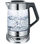 SEVERIN Thee  en waterkoker Zilver 1,7 l Roestvrijstaal, glas 300 W WK 3479