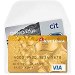 3L 6825 10 Visitekaartjes Transparant polypropyleen 10 stuks