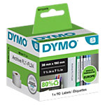 DYMO Etiketten 99018 38 x 190 mm Wit 110 Etiketten