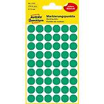 AVERY Zweckform Markeringspunten Speciaal 3143 Groen 12 x 12 mm 5 Vellen à 54 Etiketten