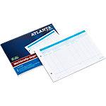 Jalema A5425 014 Werkbriefjes dagelijks Wit, blauw A5 148 x 210 mm 70 g