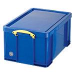 Really Useful Boxes Transportbakken polypropyleen 44 x 71 x 31 cm Blauw