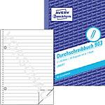 AVERY Zweckform 903 Zelfkopiërend papier boek Blauw, wit A6 60 g