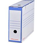 Office Depot Archiefdozen A4 Blauw 100% gerecycleerd karton 24,5 x 10 x 33,5 cm 25 stuks