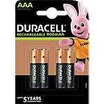 Duracell Batterijen Recharge Ultra AAA 4 Stuks