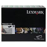 Lexmark T654X11E Origineel Tonercartridge Zwart Zwart