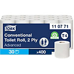 Tork Toiletpapier T4 Advanced 2 laags 30 Rollen à 400 Vellen