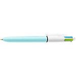 BIC® Fashion 4 kleuren balpen 0.4 mm Blauw, paars, roze, turquoise