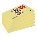 Post it Zelfklevende notes 76 x 127 mm Kanariegeel 6 Stuks à 90 Vellen