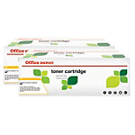 Office Depot Compatible HP 36A Tonercartridge CB436A Zwart 2 Stuks