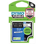 DYMO D1 Durable Labeltape 1978364 Zwart op Wit 12 mm x 5,5 m