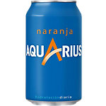 AQUARIUS Sportdrank Blik 24 Stuks à 330 ml