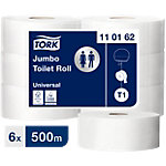 Tork Toiletpapier T1 Advanced Jumbo 1 laags 6 Rollen à 2500 Vellen