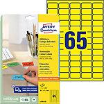 AVERY Zweckform Verwijderbare etiketten Stick & Lift L4793 20 Geel 38,1 x 21,2 mm 20 Vellen à 65 Etiketten