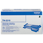 Brother TN 2210 Original Tonercartridge Zwart