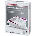 Office Depot Advanced Papier voor Laser printers A4 90 gram Wit 500 vellen
