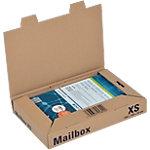 ColomPac Verzenddozen Mail Box XS Bruin 250 (B) x 158 (D) x 39 (H) mm