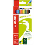 STABILO GREENcolors Kleurpotloden Assortiment 12 Stuks