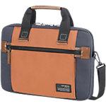 Samsonite Laptop schoudertas Sideways Blauw, oranje