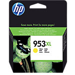 HP 953XL Original Inktcartridge F6U18AE Geel