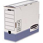 Fellowes Archiefdozen System Wit, blauw karton 31 x 26,5 x 26 cm 10 stuks