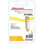 Office Depot Compatible HP 920XL Inktcartridge cd974a Geel