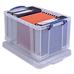 Really Useful Box Archiefboxen 48L Transparant Plastic 40,5 x 61 x 31 cm