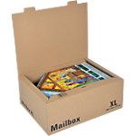 ColomPac Verzenddozen XL Mail Box Bruin 465 (B) x 349 (D) x 184 (H) mm 5 Stuks