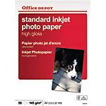 Office Depot Premium Inkjet fotopapier A4 Glanzend 145 g