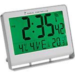 Alba Wand  sta klok Digitale klok LCD wit