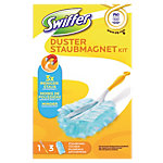 Swiffer Duster + 3 stoffers Duster 125 x 56 x 195 mm Geel, blauw