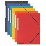 Office Depot 3 flap mappen A4 Kleurenassortiment Manillakarton 10 Stuks