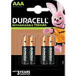 Duracell Oplaadbare batterijen Plus Power AAA 4 Stuks