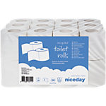 Niceday Toiletpapier 2 laags 24 Rollen à 200 Vellen