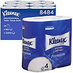 Kleenex Toiletpapier 8484 4 laags 24 Rollen à 160 Vellen