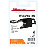 Office Depot Compatible Brother LC1240BK Inktcartridge Zwart