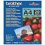 Brother BRBP71GA4 Glossy fotopapier A4 Glanzend 260 g